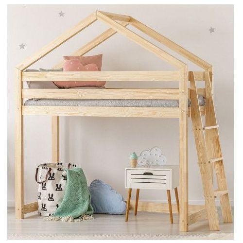 Piętrowe łóżko domek Miles 9X - 12 rozmiarów, SYMBOL ŁÓŻKA: MILA DMPBA