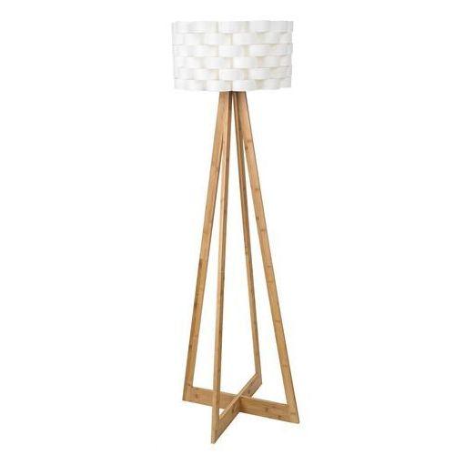 Lampa podłogowa Rabalux Andy 4181 lampa stojąca drewniana 1x60W E27 biały