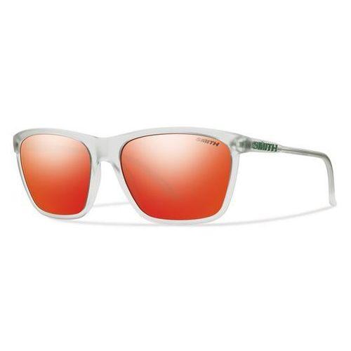 SMITH - Delano Pk Matte Crystal Red Sol-X (FO9-58AO) rozmiar: OS, kolor czerwony