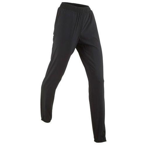 Spodnie sportowe funkcyjne, długie czarny marki Bonprix