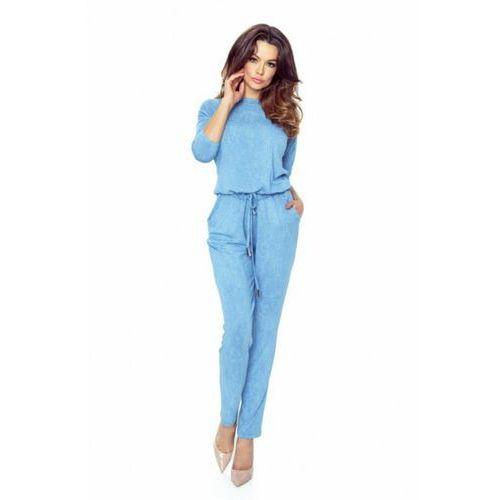 Kombinezon Damski Model 21-04 Blue Jeans, kolor niebieski