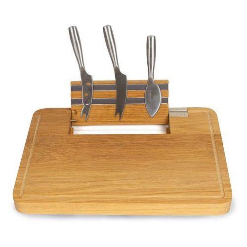 Zestaw do serwowania serów z deską i nożami party marki Boska