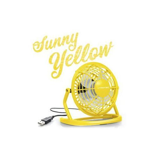 Trotec Wentylator usb sunny yellow tve 1y (4052138014936)