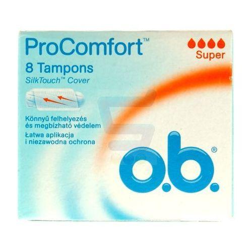 OB 8szt ProComfort SilkTouch Super Tampony (3574660234862)