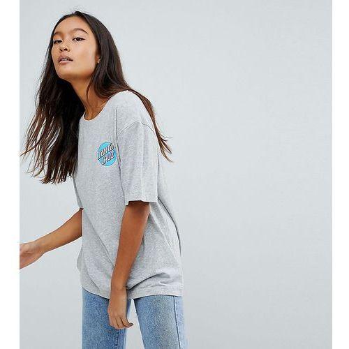 Santa Cruz T-Shirt With Back Print - Grey