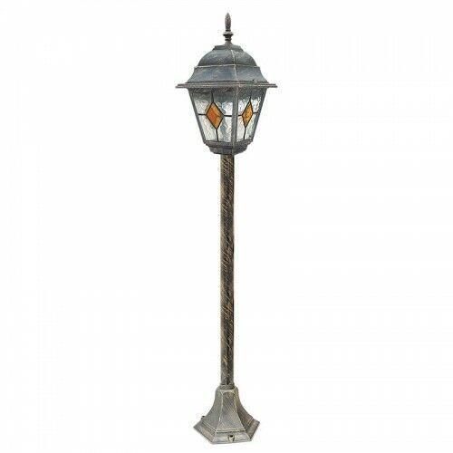 Rabalux Lampa stojąca ogrodowa monaco 1x60w e27 ip43 antyczne złoto 8185