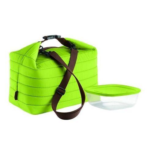 Duża torba termiczna z pojemnikiem On the Go zielona (8008392293989)
