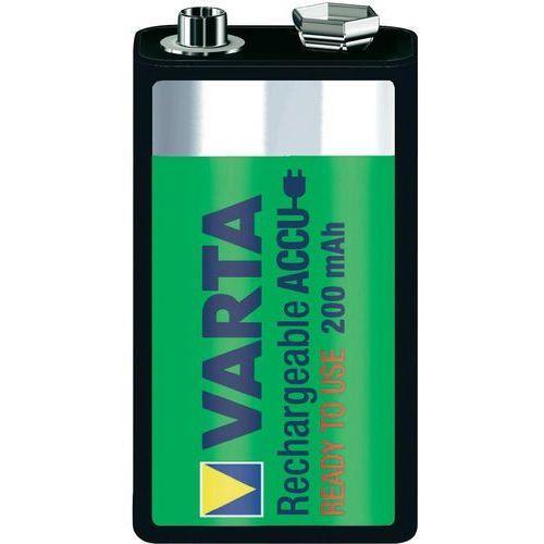 Akumulatorek  ready2use 6f22 9v ni-mh 200mah marki Varta
