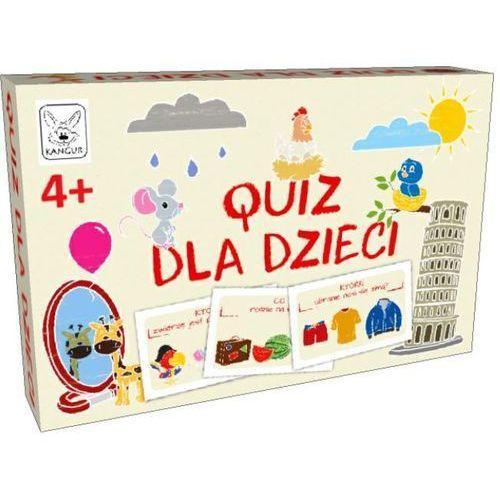 Kangur Gra quiz dla dzieci - od 24,99zł darmowa dostawa kiosk ruchu