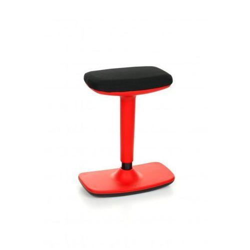 Stołek balansujący Kiko czerwony kolor czerwony CU10