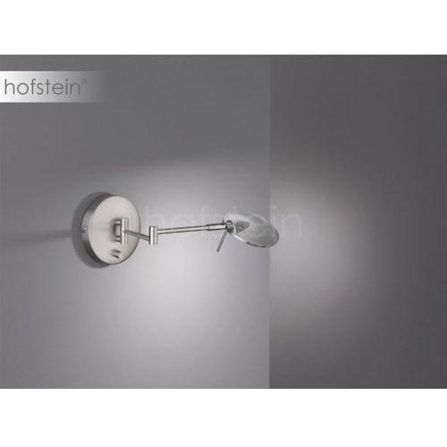 Trio KAZAN Lampa ścienna LED Nikiel matowy, 1-punktowy - Nowoczesny - Obszar wewnętrzny - KAZAN - Czas dostawy: od 3-6 dni roboczych, 274770107
