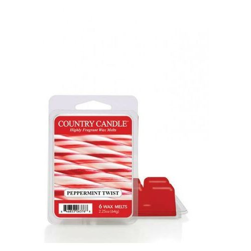 Kringle candle Country candle wosk zapachowy peppermint twist 64g