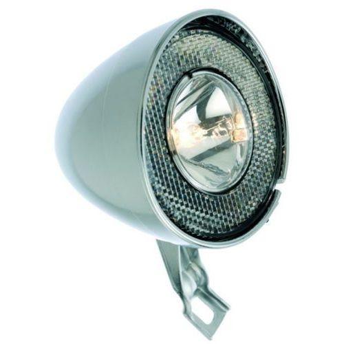 Busch + müller lumotec retro oświetlenie retro szary retro 2018 lampki na dynamo (4006021004092)