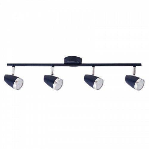 Listwa Rabalux Karen 5953 lampa sufitowa 4x4W LED niebieska/chrom, 5953