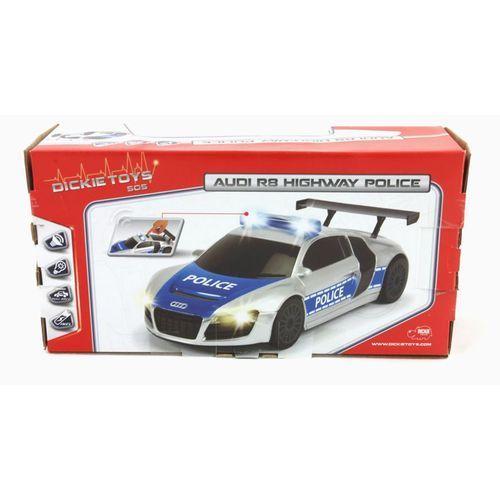 Dickie SOS Policja Radiowóz Samochód Audi 19 cm 371-3001