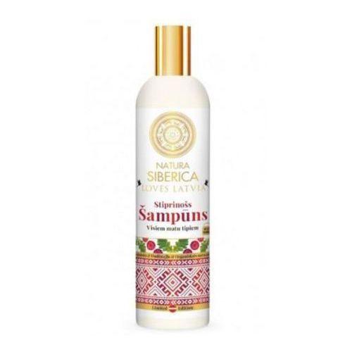 Natura Siberica Loves Latvia szampon wzmacniający do włosów 400 ml