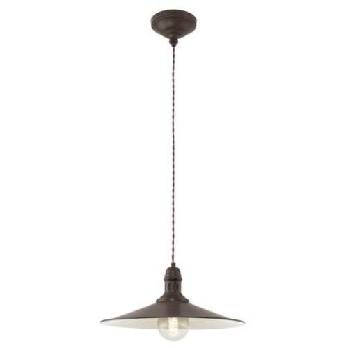Lampa wisząca 1x60w stockbury, 49456 marki Eglo