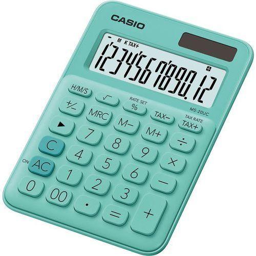 Casio Kalkulator ms-20uc-gn-s zielony