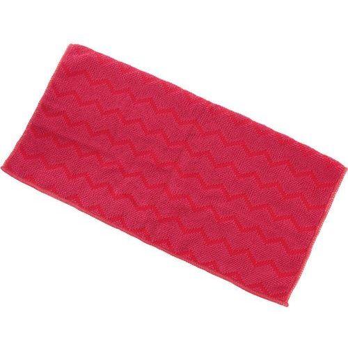Stalgast Ścierka z mikrofibry, uniwersalna, czerwona