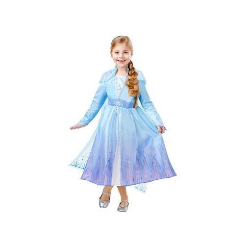 Kostium frozen 2 elsa deluxe dla dziewczynki - 9-10 lat marki Rubies