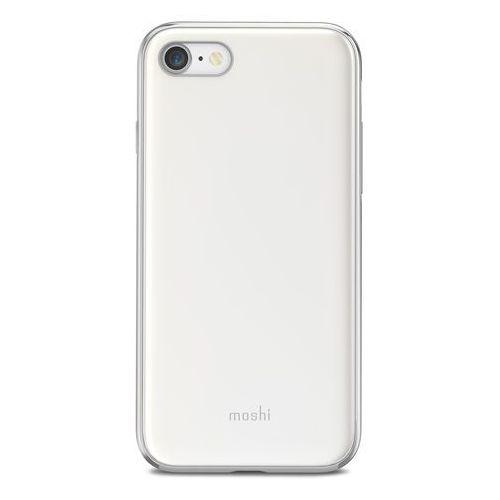 Moshi iGlaze - Etui iPhone 8 / 7 (Pearl White) (4713057253683)