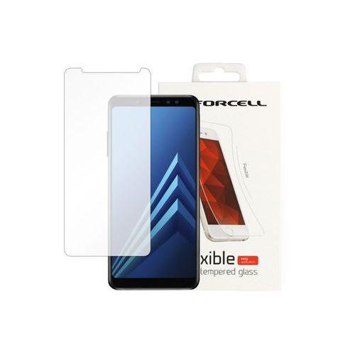 Samsung Galaxy A8 (2018) - szkło hartowane Forcell Flexible Glass, FOSM644FLXG000000
