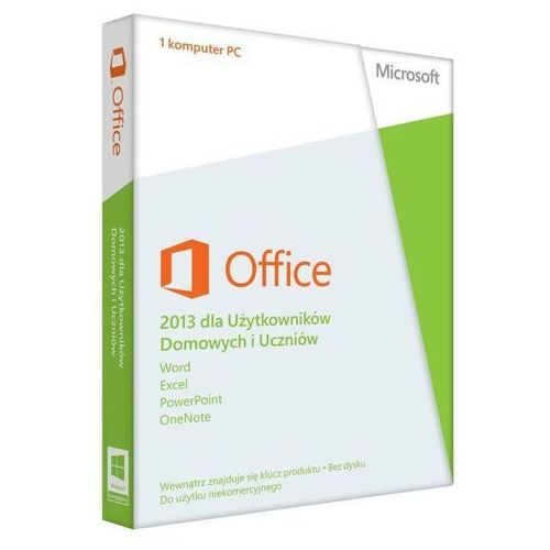 Microsoft  office home and students 2013 32-bit/x64 polish