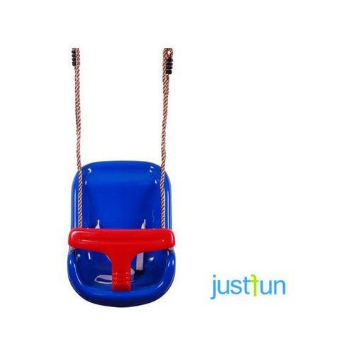 Just fun Huśtawka kubełkowa - niebiesko-czerwony