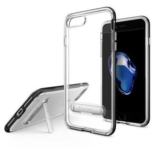 Spigen Crystal Hybrid iPhone 7 Plus czarny, kolor czarny
