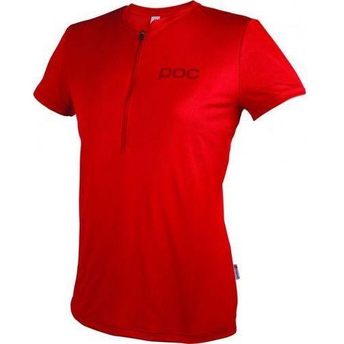 POC koszulka rowerowa Trail Light Zip Wo red