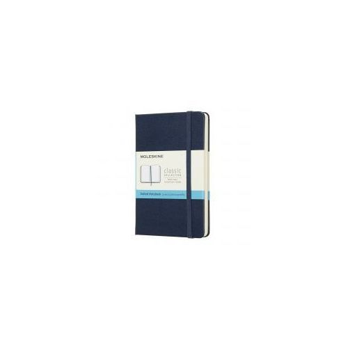 Moleskine Notatnik classic p kropki, twarda oprawa, szafirowy (8058341715338)