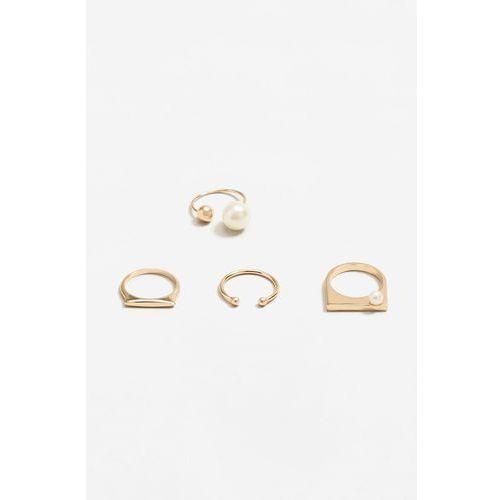 - pierścionki gamma (4-pack) marki Mango