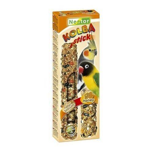 kolba 2w1 papuga średnia biszkopt i miód wyprodukowany przez Nestor