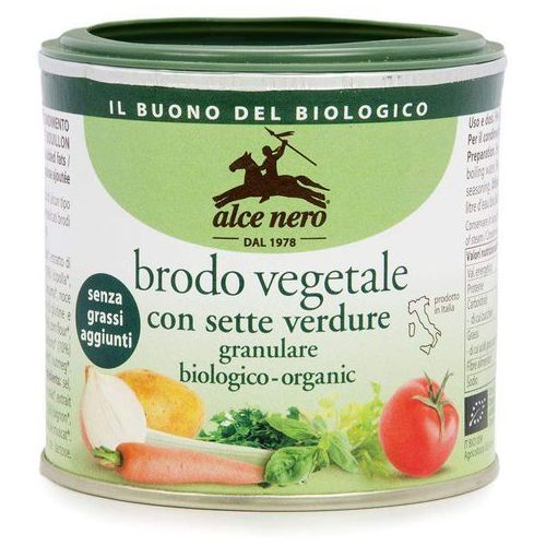 Alce nero Bulion w proszku (wegetariański) bio 120g - (8009004809598)