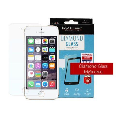 Myscreen protector Apple iphone 5 / 5s - szkło hartowane diamond glass