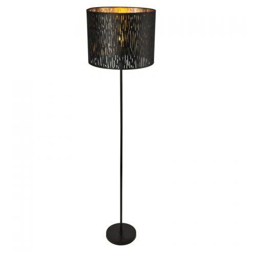 Globo TUXON Lampa Stojąca Czarny, 1-punktowy - Nowoczesny - Obszar wewnętrzny - TUXON - Czas dostawy: od 6-10 dni roboczych