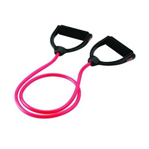 Guma do ćwiczeń z wyprofilowanym uchwytem poziom 1 + zamów z dostawą jutro! marki York fitness