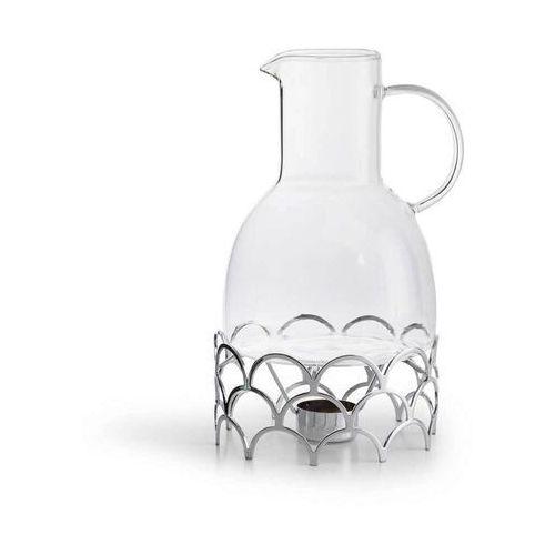Sagaform - winter - dzbanek do grzanego wina z podgrzewaczem - 1,3 l - srebrny (7394150181607)