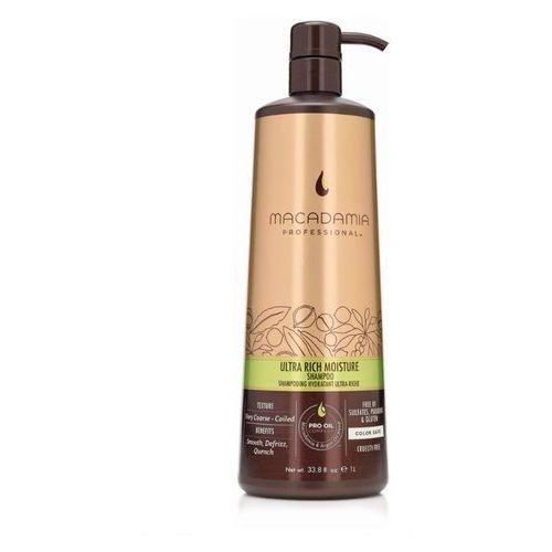 ultra rich moisture shampoo | nawilżający szampon do włosów grubych 500ml marki Macadamia