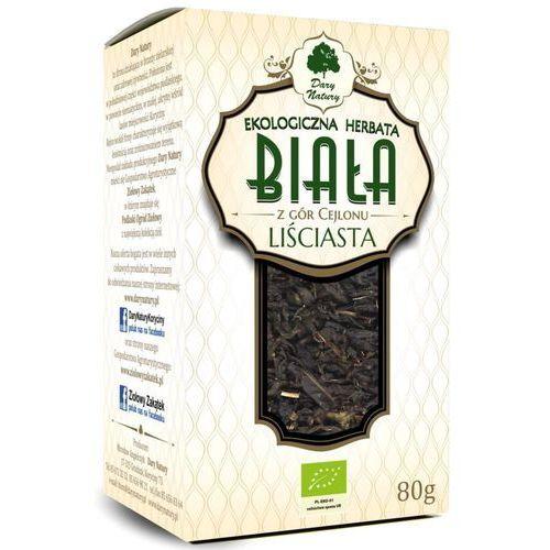 Dary natury - herbatki bio Herbata biała liściasta bio 80 g - dary natury (5902581618450)