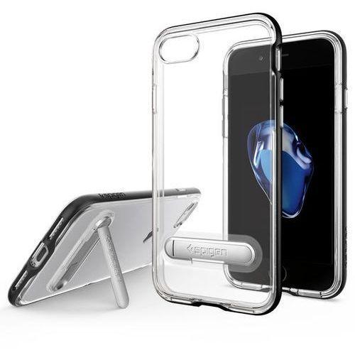 Spigen Crystal Hybrid iPhone 7 czarny, kolor czarny