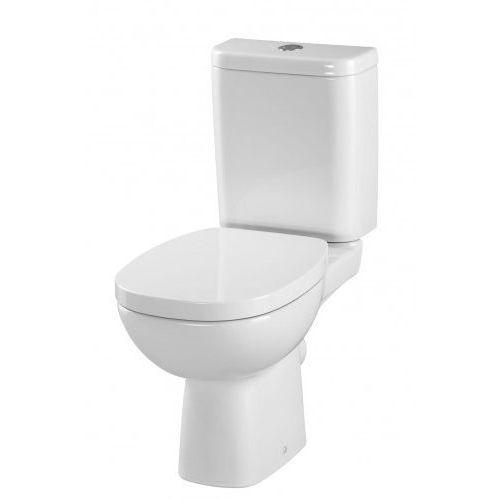 Cersanit facile kompakt wc, doprowadzenie z dołu, deska twarda k30-009 (5907720651718)