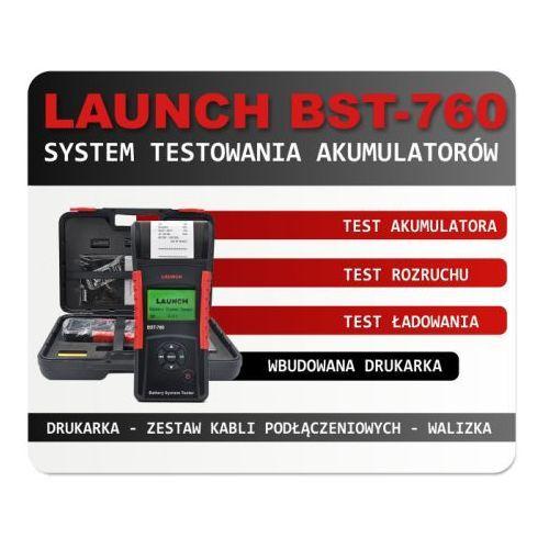 Tester akumulatorów Launch BST-760 z drukarką