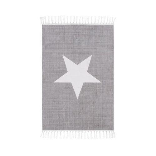 Inspire Dywan bawełniany star siwy 60 x 90 cm (3276000630852)