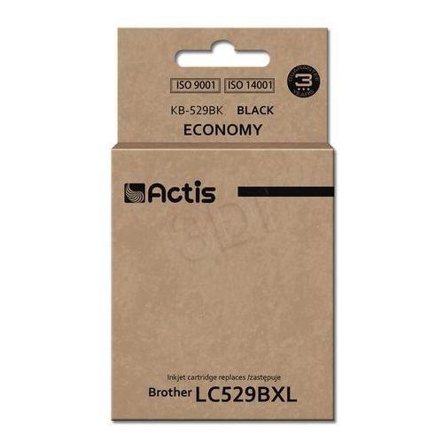Actis Tusz kb-529bk black do drukarek brother (zamiennik brother lc529xlbk) [58ml]