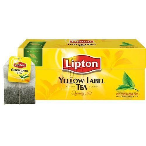 Lipton Herbata yellow label 25 torebek