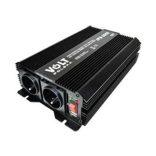 ips 3000 12v przetwornica napięcia 1700w/3000w 12v/230v marki Volt