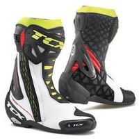 TCX BUTY RT-RACE PRO AIR WHITE/RED/YELLOW FLUO, kolor żółty