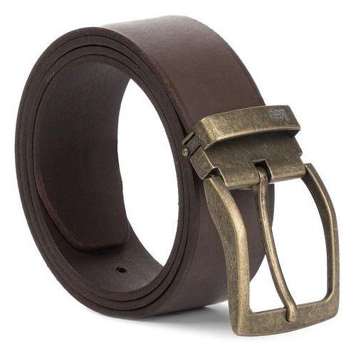 Lee Pasek męski - basic belt lu025324 dark brown