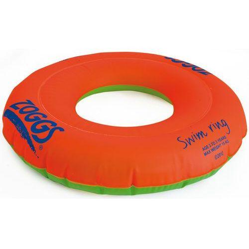 Zoggs swim ring dzieci 3-6 years pomarańczowy 2018 akcesoria pływackie i treningowe (0749266012111)